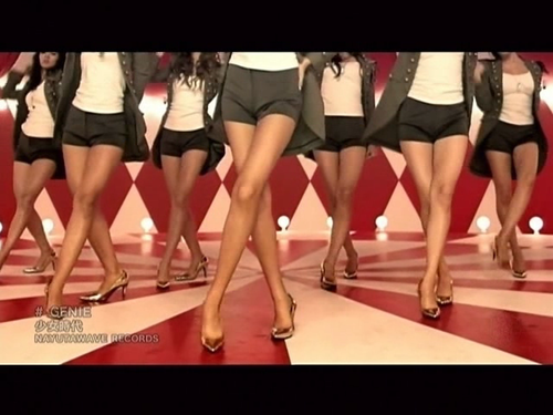 SNSD's Beautiful Slender Legs Need Custom Made Boots