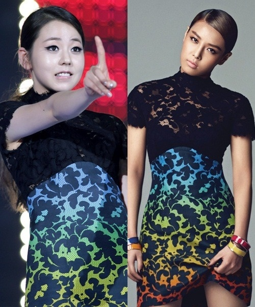 Who Wore It Better: Sohee vs Yubin