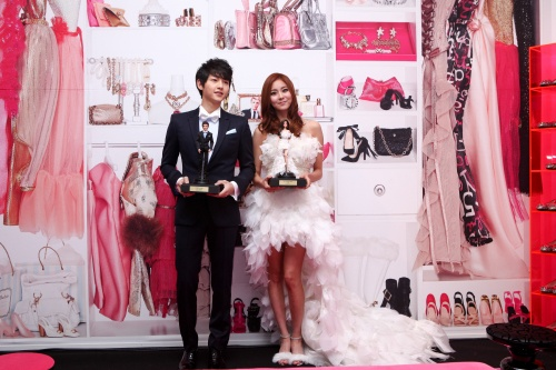 Uee and Song Joong Ki As Barbie and Ken