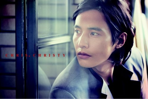 "Stills from Won Bin's ""Chris, Christy"" Photo Shoot"