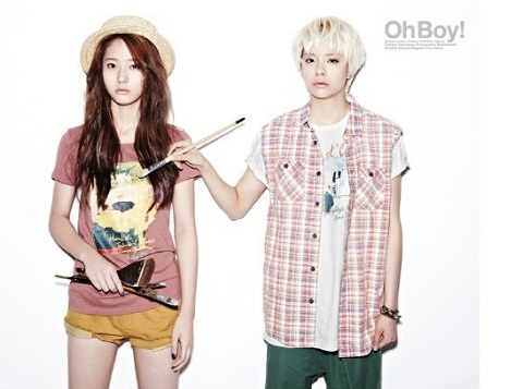 f(x)'s Krystal and Amber Model Fine Art!