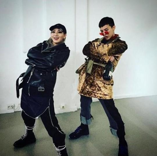 CL (2NE1) et G-Dragon (BIGBANG) ensemble à Paris ? - Soompi France