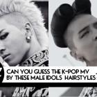 Soompi Quiz – Associer des coiffures à un clip (version homme)