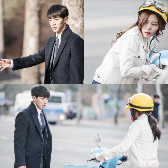 """Lee Gi Kwang et Lee Yul Eum débutent leur romance dans les premiers stills de """"Monster"""""""