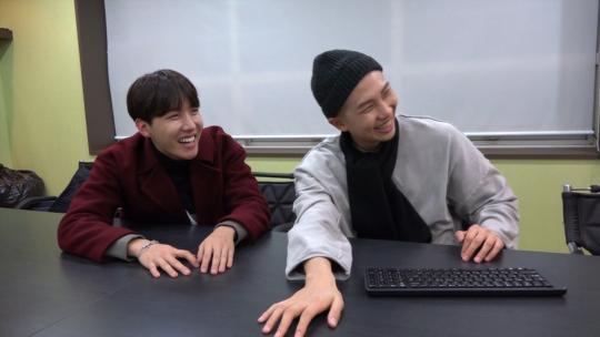 """BTS : Avec quel membre de GOT7 Rap Monster aimerait-il vivre une """"Celebrity Bromance"""" ?"""
