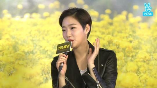 Kim Go Eun parle de sa nouvelle coupe de cheveux