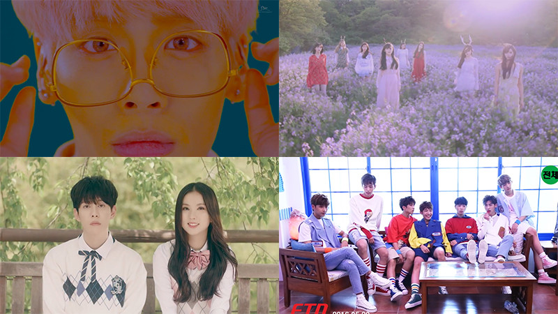Parmi les MVs sortis cette quatrième semaine de mai, lequel est votre préféré ?