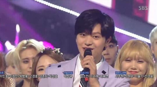 BTOB : Sungjae quitte son rôle de présentateur de l'Inkigayo