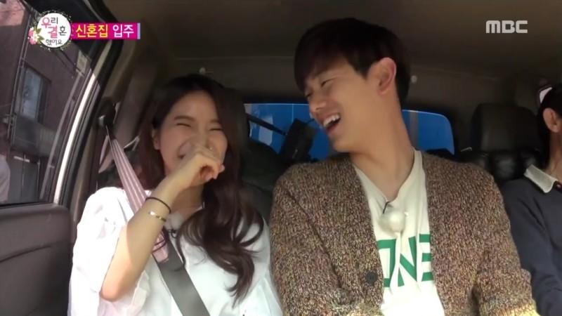 We Got Married : Solar (MAMAMOO) fait bondir le cœur de Eric Nam avec un contact physique