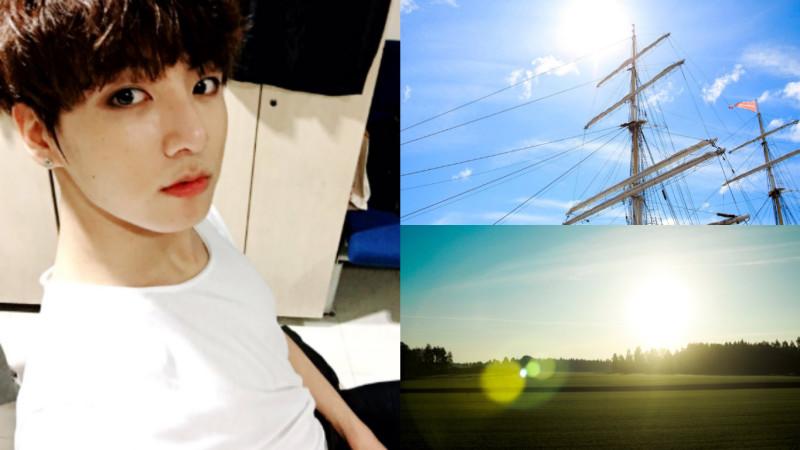 Jungkook (BTS) prouve qu'il est plutôt doué pour la photographie