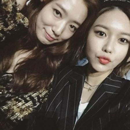 Sooyoung (Girls' Generation) remercie Park Shin Hye pour son cadeau