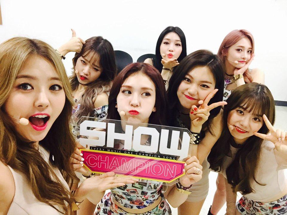 Toutes les performances du Show Champion du 24.08.16