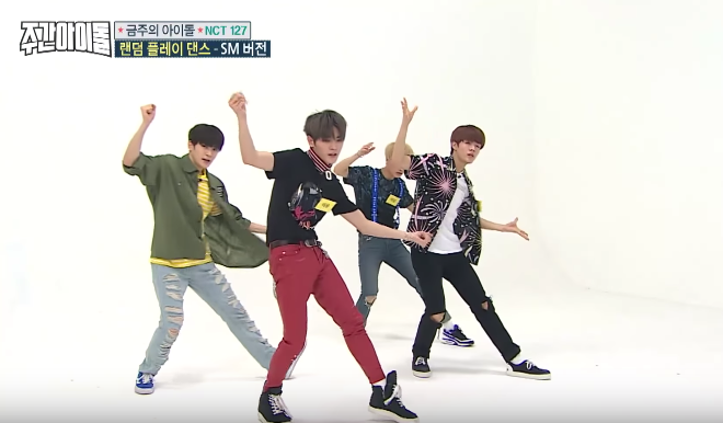 Les NCT 127 proposent un medley de différentes chorégraphies d'artistes de la SM Entertainment