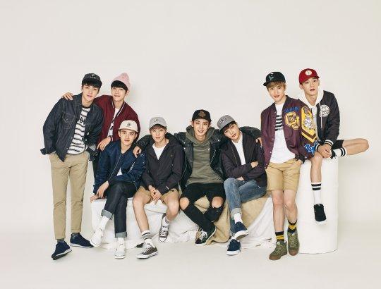 EXO est casual pour Hats On