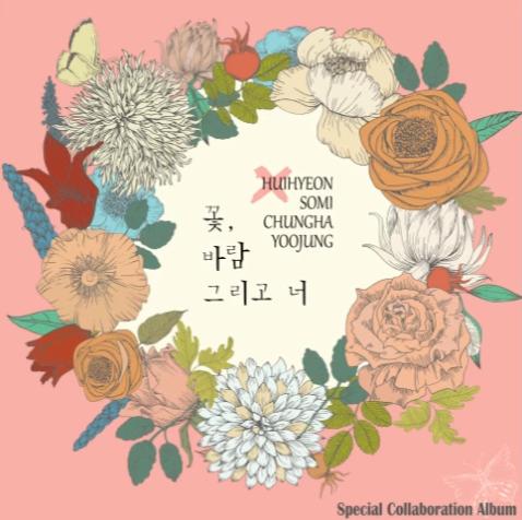 """Somi, Chungha et Yoojung des I.O.I ainsi que Cathy des DIA révèlent le MV de """"Flower, Wind And You"""""""