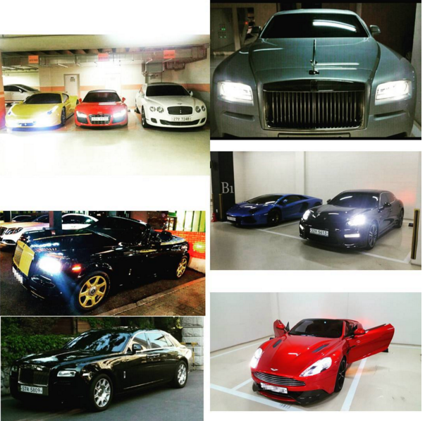 Junsu muestra su impresionante colección de coches extranjeros