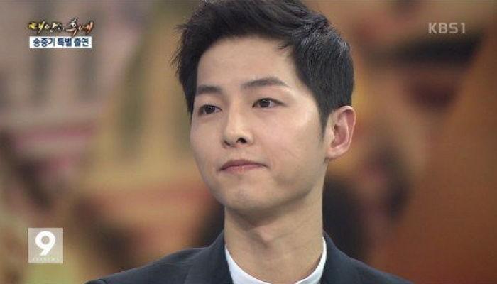 Los programas de noticias ven una subida de audiencia gracias a Song Joong Ki