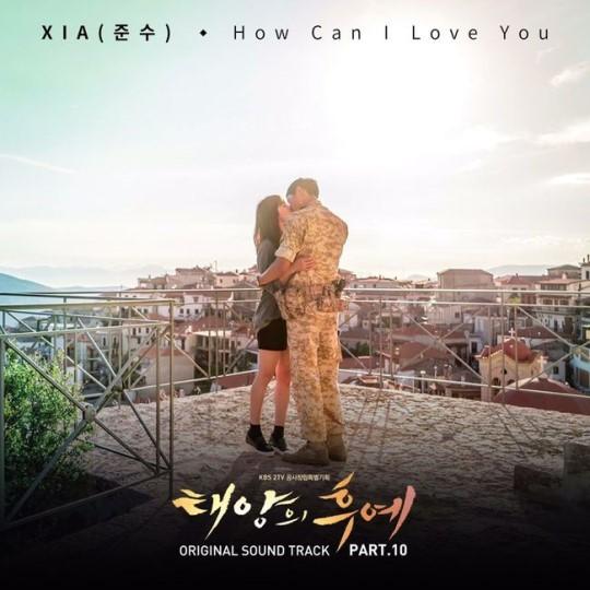 """Junsu de JYJ encabeza las listas musicales con la banda sonora de """"Descendants of the Sun"""""""