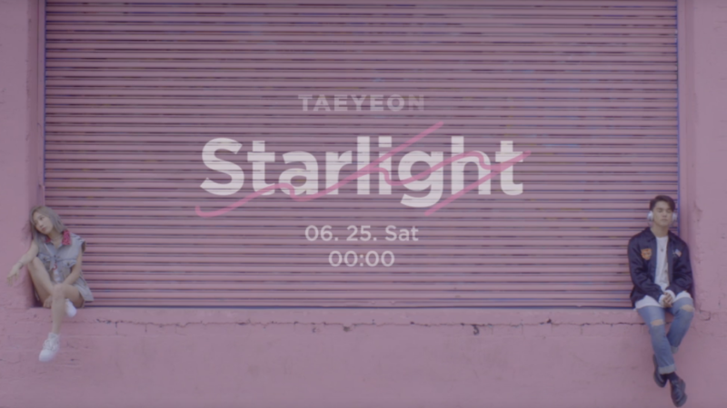 "Taeyeon de Girls' Generation y DEAN muestran su química en video teaser de ""Starlight"""