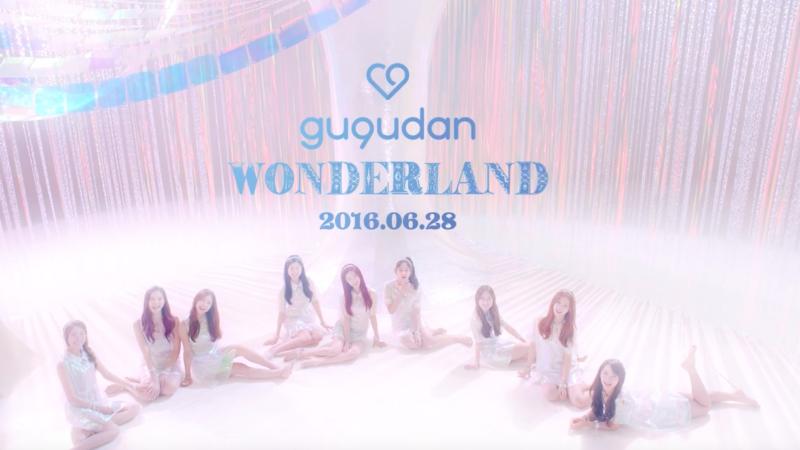 """[Actualizado] gugudan libera MV teaser para su debut con """"Wonderland"""""""