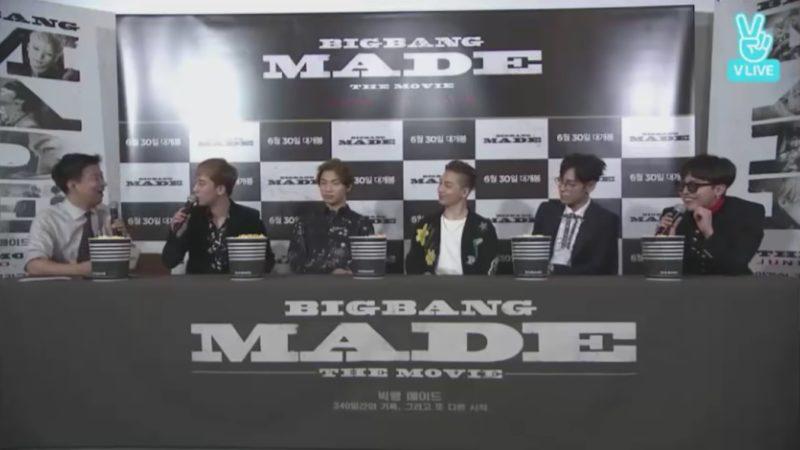 """G-Dragon y Taeyang de BIGBANG aseguraron que mostrarán sus verdaderas personalidades en la película """"BIGBANG MADE"""""""