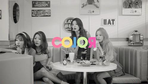 """Melody Day libera MV retro en blanco y negro para """"Color"""""""