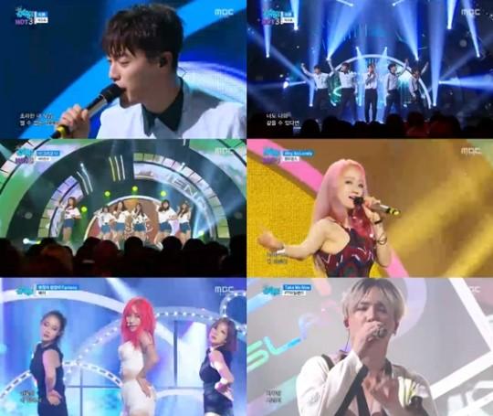 """Actuaciones de FTISLAND, Fei, BEAST y más en """"Music Core"""""""
