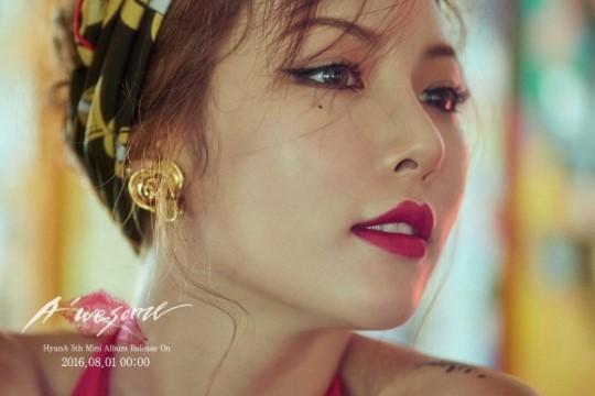 HyunA revela audio teaser y más detalles para su comeback