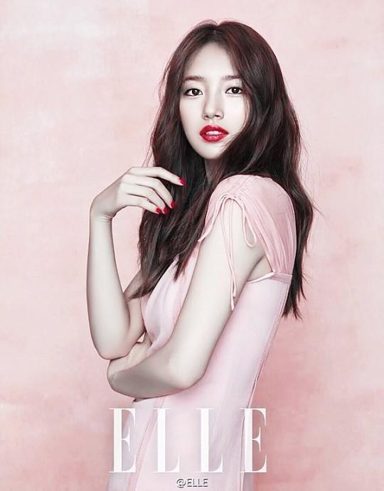 Suzy, impresionantemente bella para Elle China