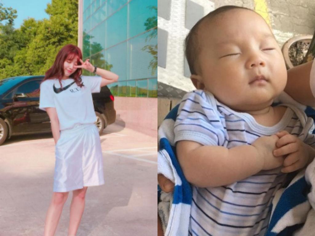 ¿Pariente de Park Shin Hye es confundido como su nuevo hermano menor?