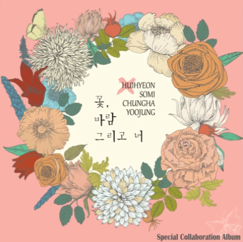 "Somi, Chungha y Yoojung de I.O.I y Cathy de DIA revelan el MV de ""Flower, Wind And You"""