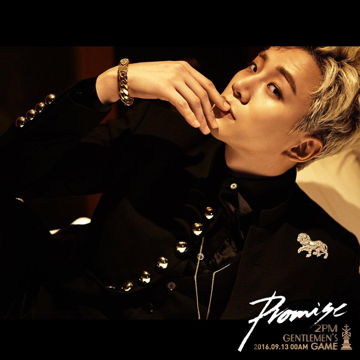 """2PM comparte las primeras imágenes teaser de sus miembros para su comeback con """"Gentlemen's Game"""""""