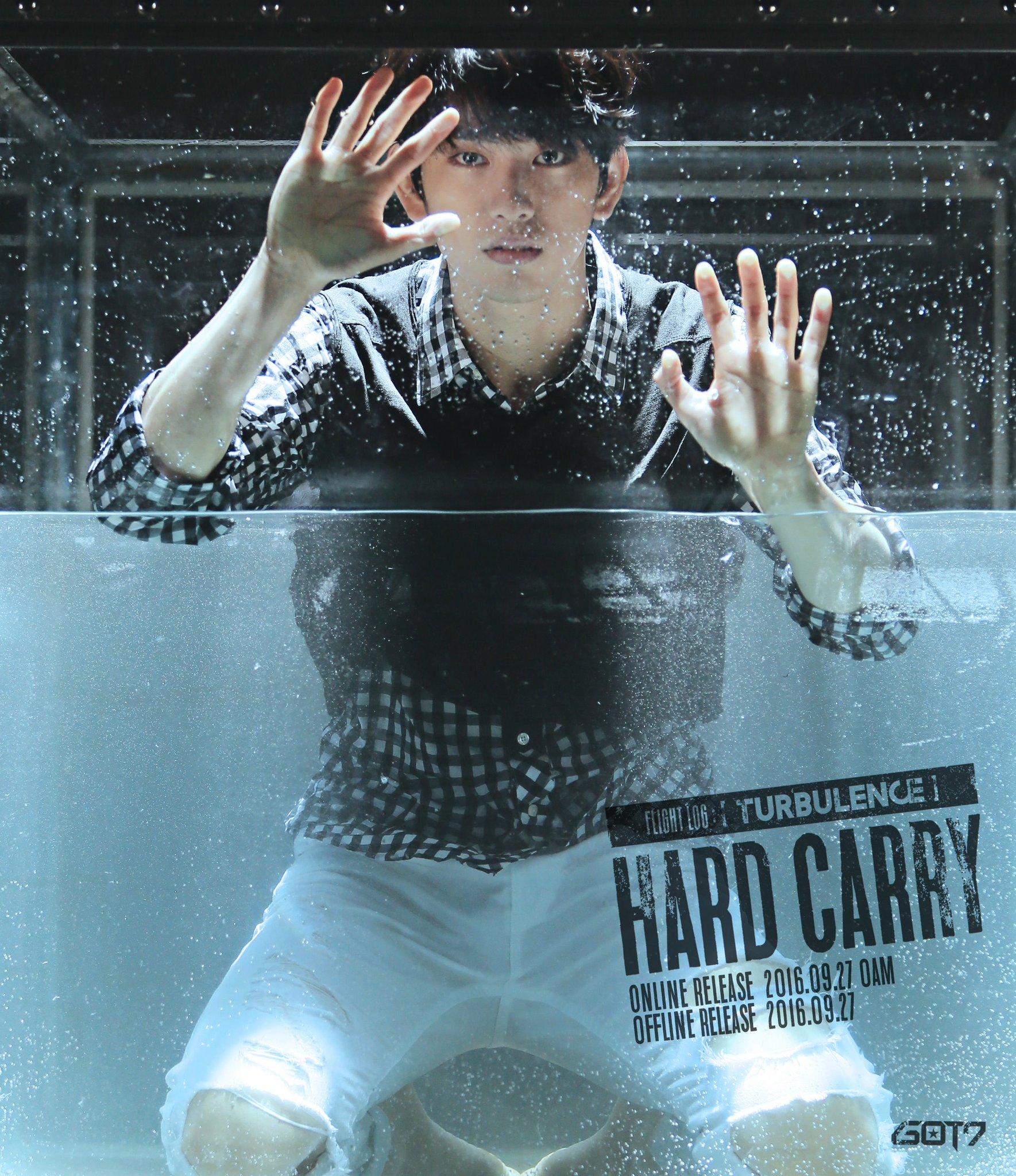 """GOT7 revela las primeras imágenes teaser para su comeback con """"Hard Carry"""""""