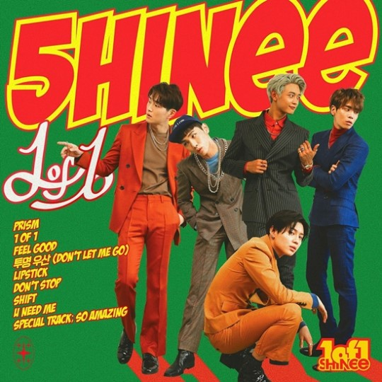 "SHINee >> Album ""The Story of Light"" SHINee-tracklist"