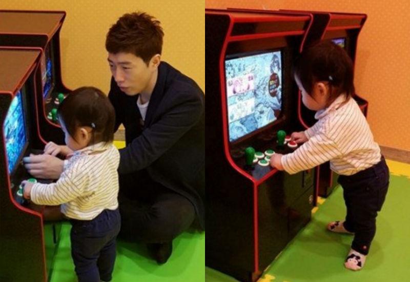 Kim Ga Yeon cree que su hija ha heredado los genes de jugador de Im Yo Hwan