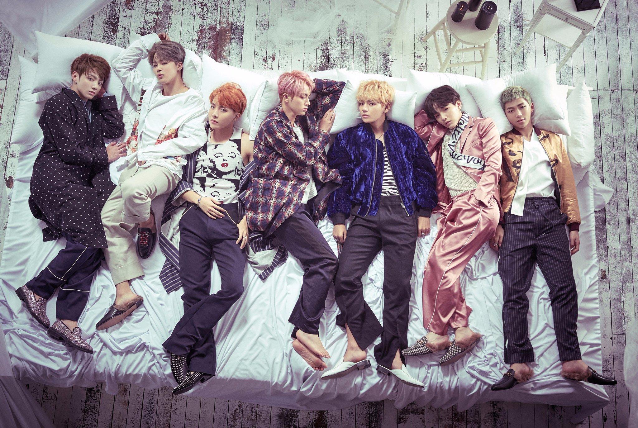 Cada integrante de BTS tendrá un tema en solitario en su nuevo álbum