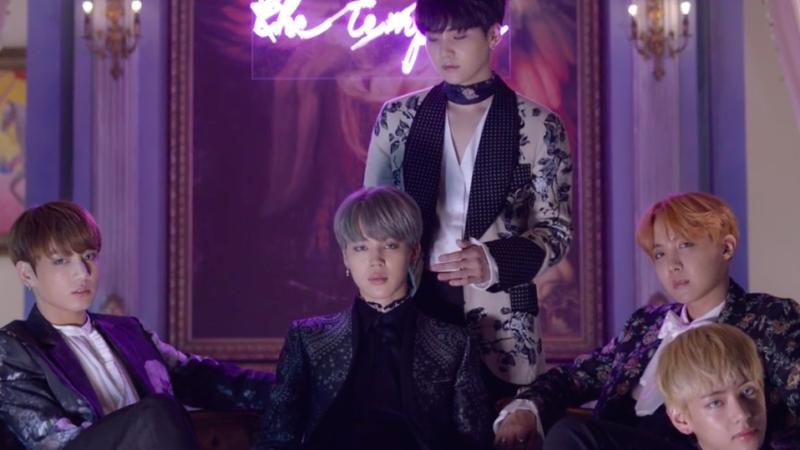 "BTS revela impresionante video teaser para ""Blood Sweat & Tears"""