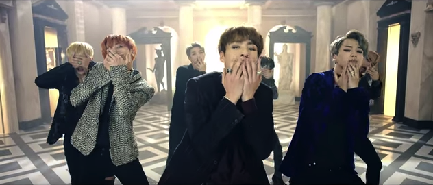 "El video musical de ""Blood Sweat & Tears"" de BTS llega a los 2 millones de visitas en YouTube"