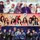 BTS-I.O.I-EXO