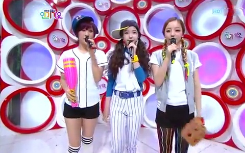 SBS Inkigayo Performances 04.29.12