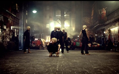"B.A.P Releases Their Behind the Scenes Video for ""Warrior"""