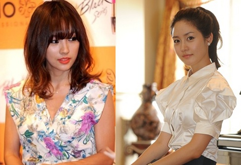 Who's Prettiest? Lee Hyori vs. Sung Yuri vs. Photoshopped Photo