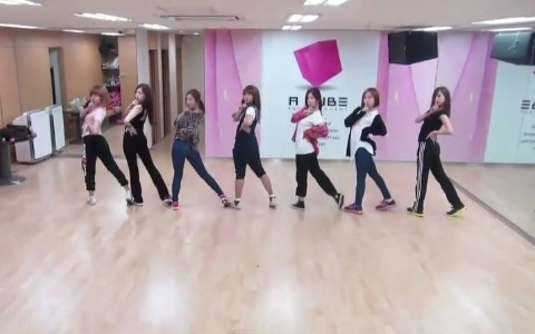 "A Pink Releases Dance Practice Video for ""Hush"""