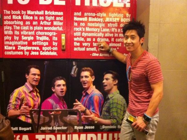 "Brian Joo Attends ""Jersey Boys"""