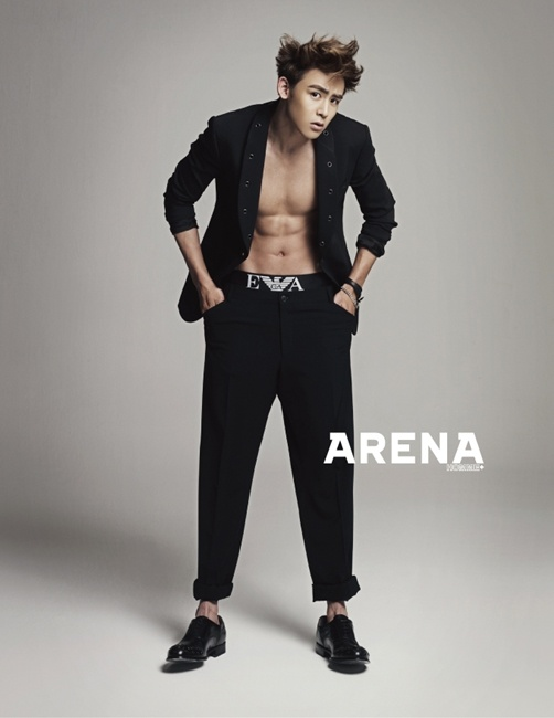 Nichkhun Models Emporio Armani Underwear | Soompi