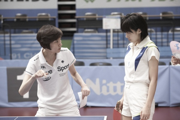"Ha Ji Won and Bae Doo Na Transform Into Ping Pong Athletes for ""Korea"""