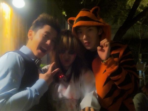 K-Pop Stars Dress Up for Halloween
