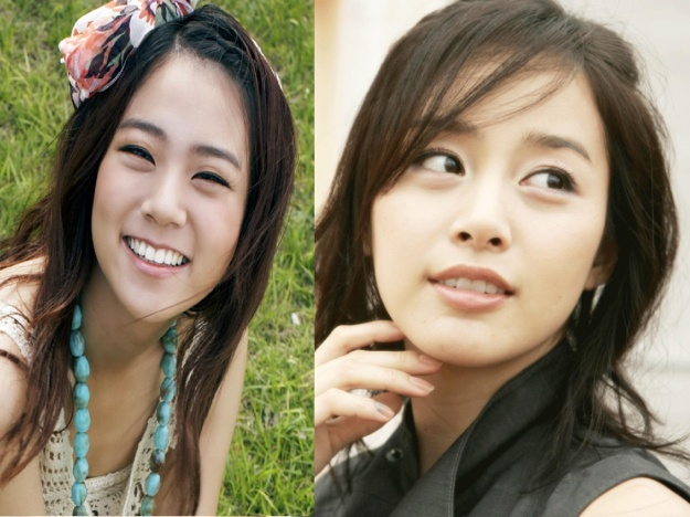 Kim Tae Hee and Kara's Han Seung Yeon Look Alike