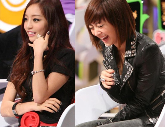 Kara's Goo Hara and Nicole Goofing Off