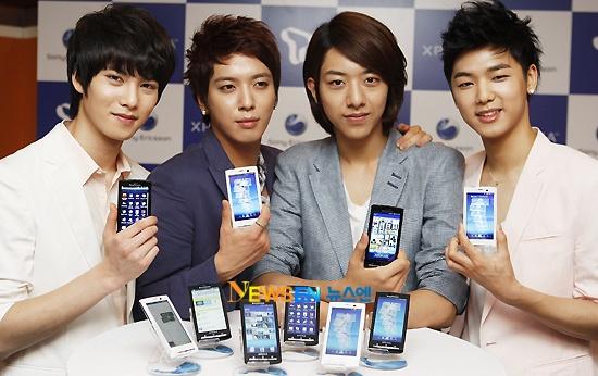 Sony Ericsson Xperia X10 Lauch Press Con (C.N. Blue)